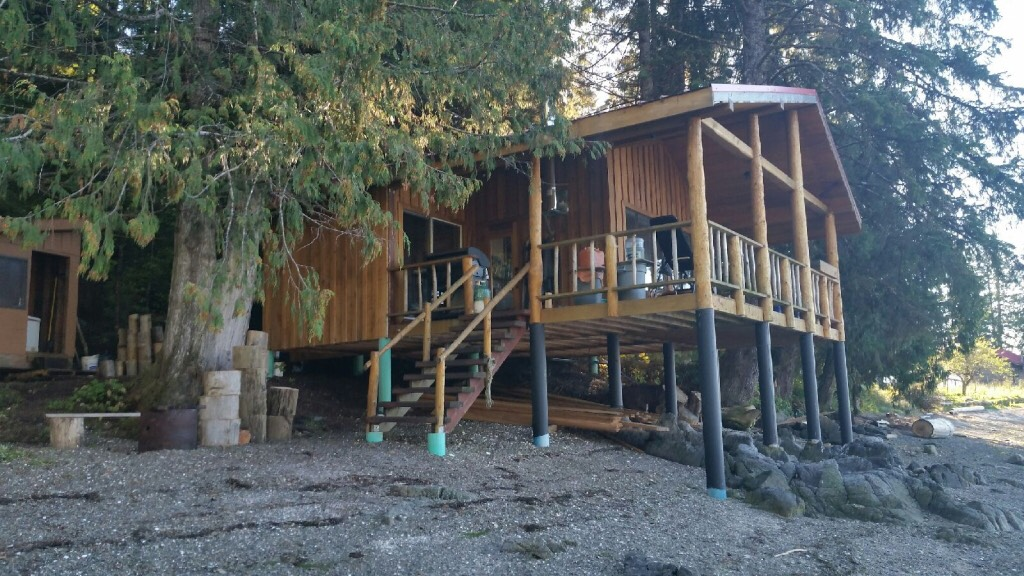 One of Our Bella Bella Cabin Rental Accommodations