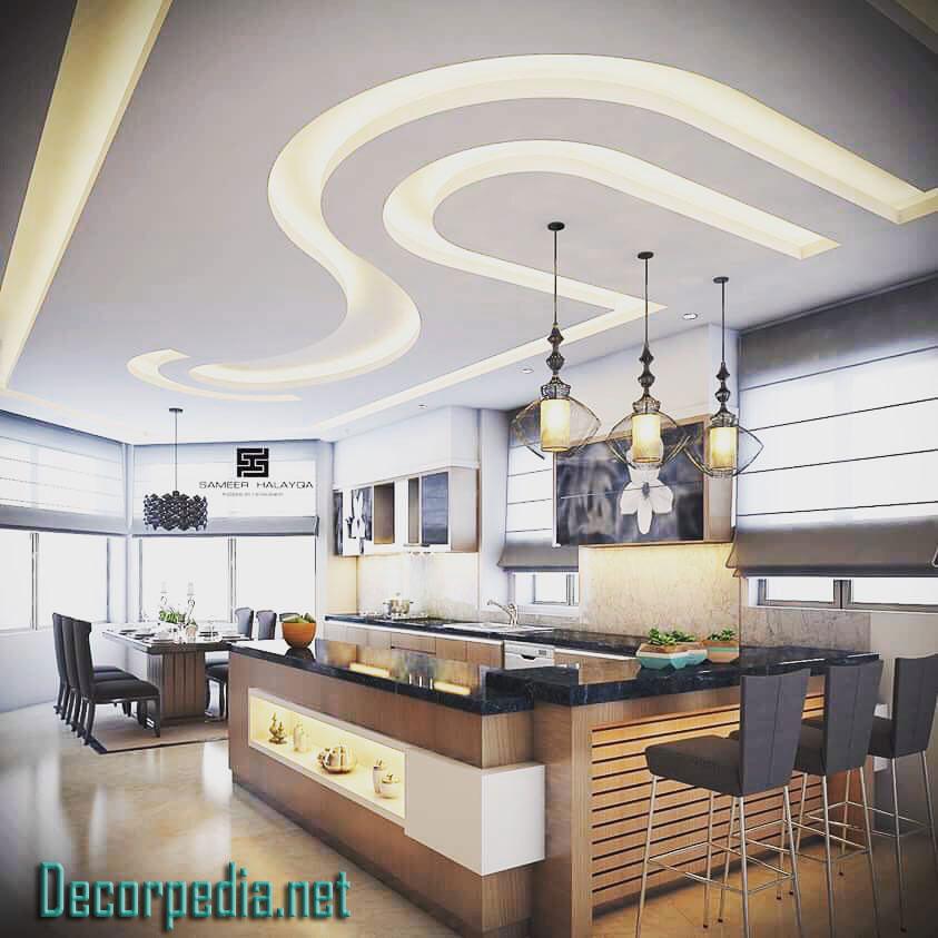 Kitchen Kitchen Low Cost Simple Pop Design