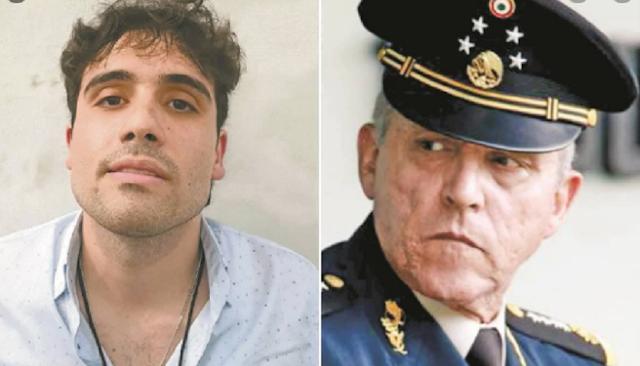 """""""Mi detención fue una venganza de la DEA porque soltaron al hijo del Chapo"""" hablo El General Salvador Cienfuegos"""