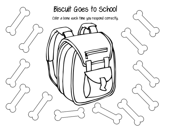 Busy Bee Speech: Biscuit Goes to School!