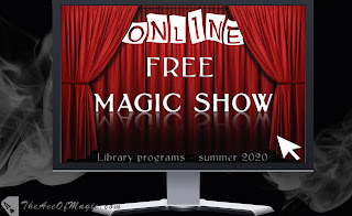 Tarpon Springs Public Library virtual magic shows
