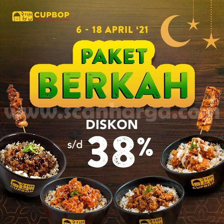 Promo CUPBOP Paket BERKAH – DISKON hingga 38%