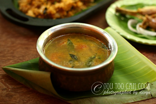 how to make south indian chicken soup