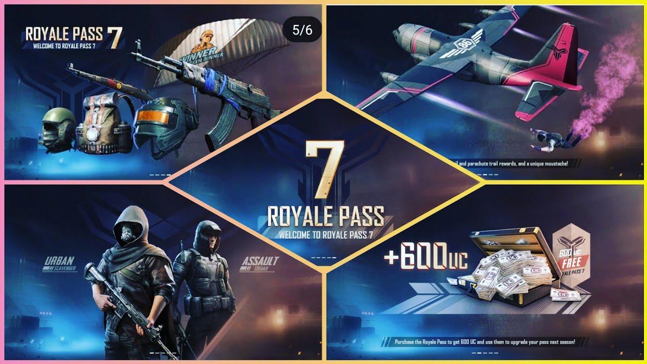 Pubg Season 7 Royal Pass Rewards Pubg Season 6 Free Royal Pass