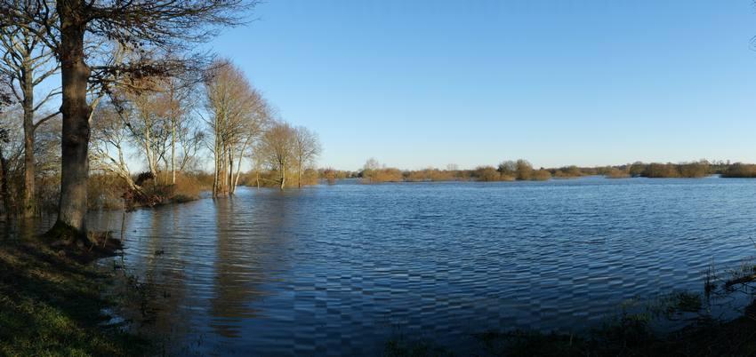 Les marais sont en eau