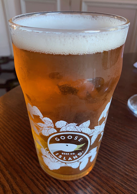 Goose Island IPA and The Welcombe Hotel Stratford-Upon-Avon