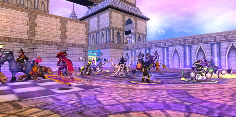 Wizard101 UK GameMasters Party and Wysteria in Live! - Swordroll's