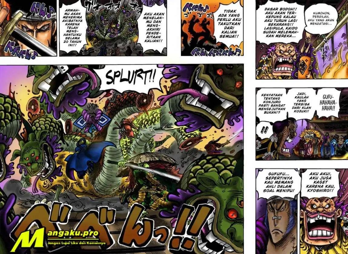 Manga One Piece Chapter 1009 Bahasa Indonesia