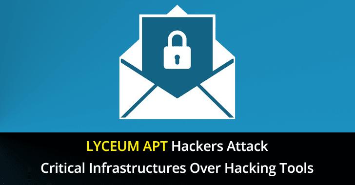 LYCEUM threat group