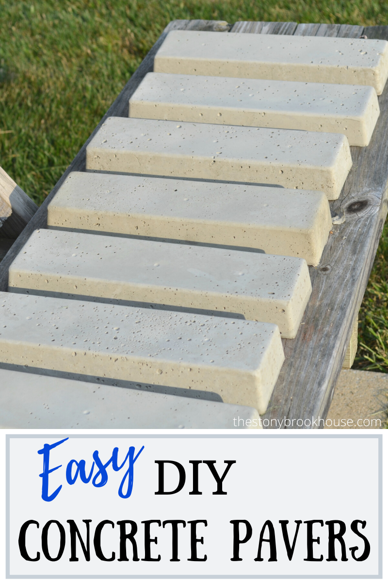 DIY Concrete Bricks