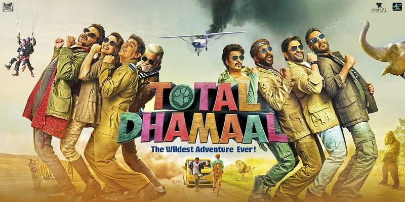 Total Dhamaal Box Office Collection Poster