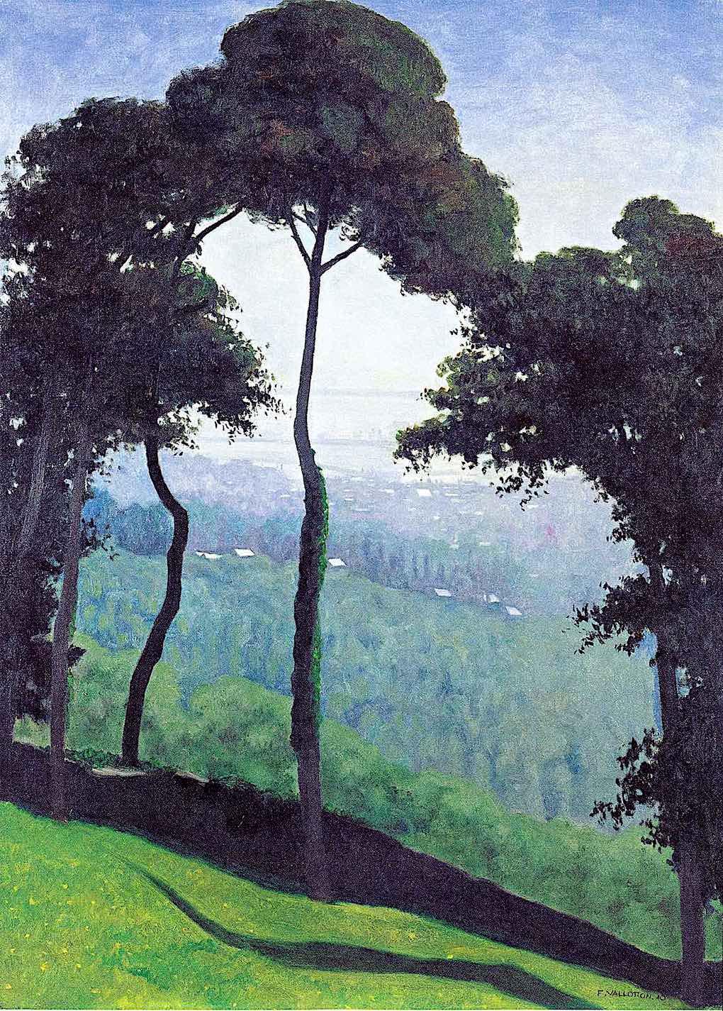 Felix Vallotton 1910 trees