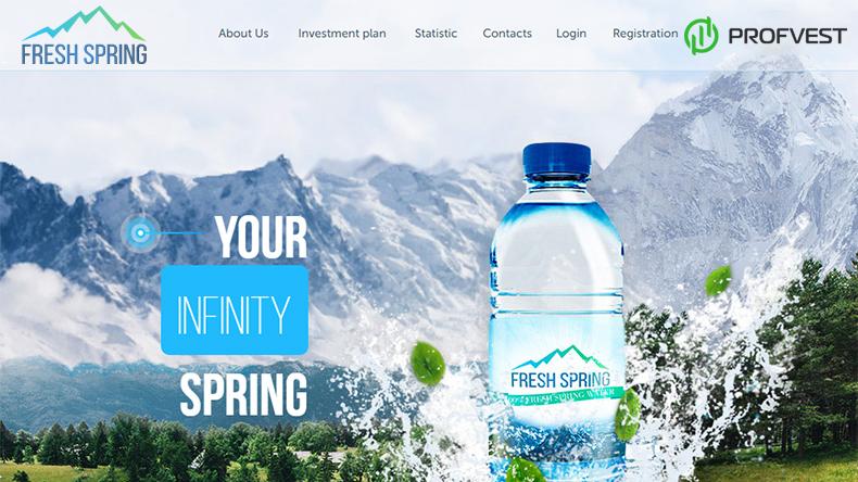 Fresh Spring обзор и отзывы вклад 600$