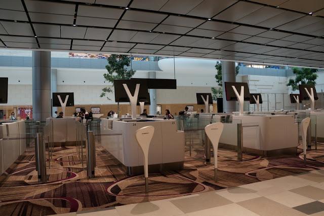 Aeroporto Changi em Cingapura