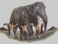 The Six Blind Men and an Elephant (Folklore From India)