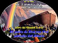 Resultado de imagen para Dios dijo a Noé y a sus hijos: «Yo hago un pacto con vosotros