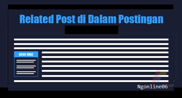 Membuat Related Post di Dalam Postingan