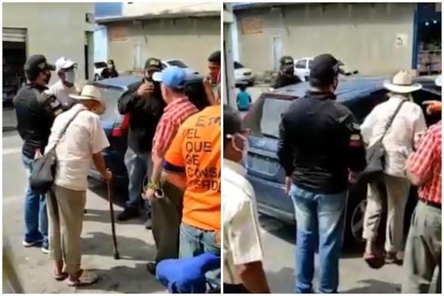 Señor de 103 años detenido 'por el Régimen por pedirle a la gente que NO VOTE