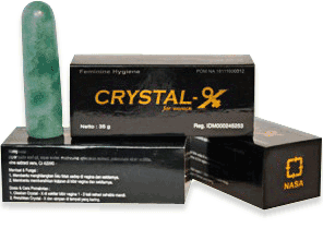Atasi Keputihan Dan Rapatkan Lagi Area Kewanitaanmu Dengan Crystal X Nasa ASLI