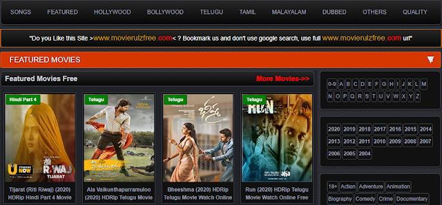 Movierulz (2020) Download Hd Movies- 300Mb Movies (Tamilrockers)