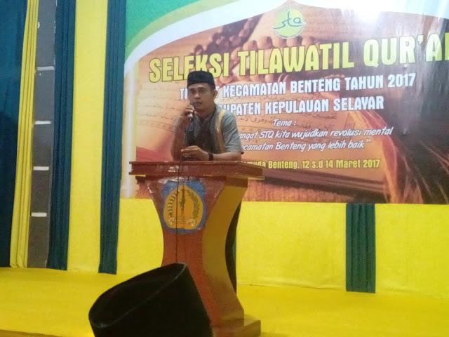 STQ Kecamatan Benteng, 2017, Ditutup, Dewan Hakim, Umumkan Hasil Lomba