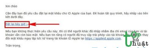Cách lấy lại mật khẩu Appstore cho iPhone