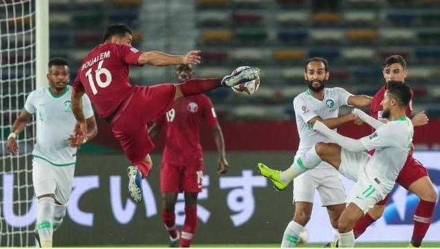 مباراة السعودية ضد قطر