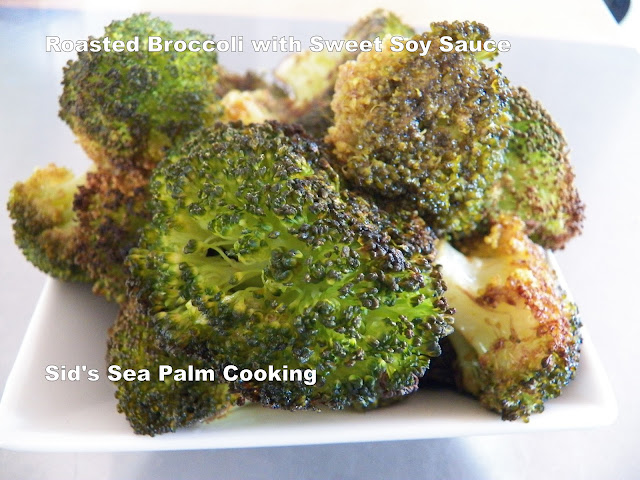 Roasted Broccoli with Sweet Soy Sauce