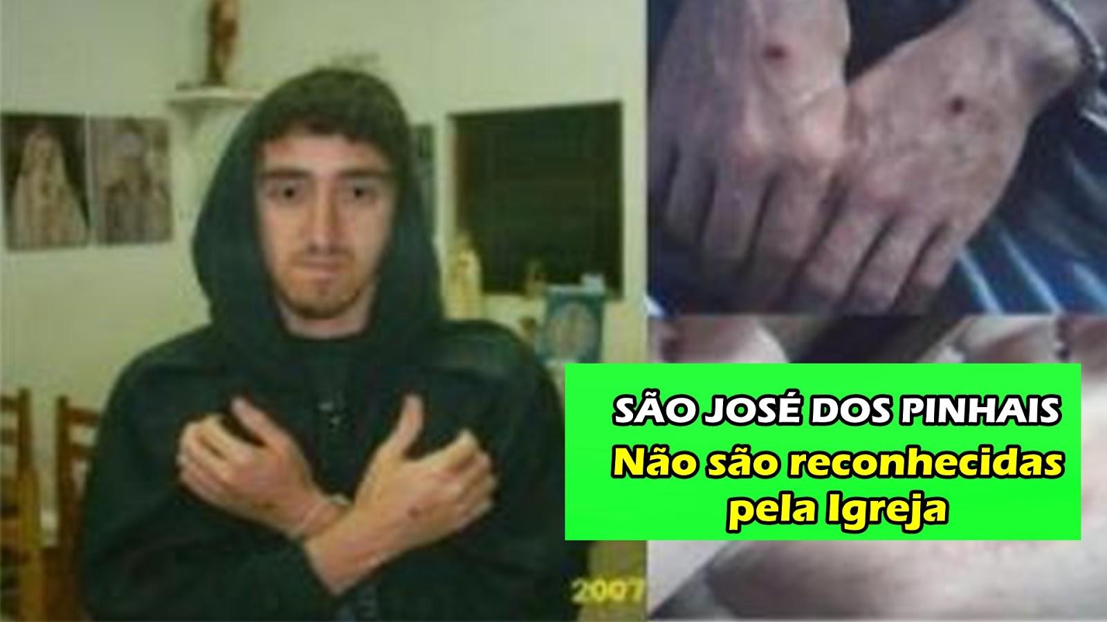 FALSAS APARIÇÕES DE SÃO JOSÉ DOS PINHAIS SÃO REPROVADAS PELO BISPO Dom José Antonio Peruzzo
