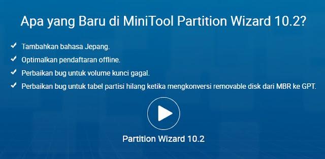Mini Tool Partition Wizard 10.2, Kecil Namun Besar Manfaatnya!