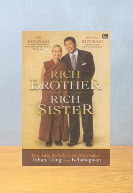 RICH BROTHER RICH SISTER, Emi Kiyosaki & Robert Kiyosaki