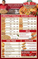 Papa John's Delivery Menu - Manila, Philippines