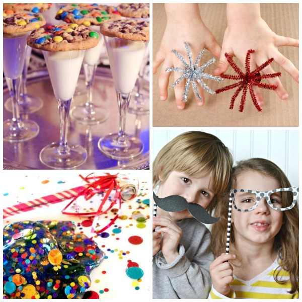 NEW YEARS ACTIVITIES AND CRAFTS FOR KIDS: 30+ FUN IDEAS! #newyearseveforkids #newyearevecrafts