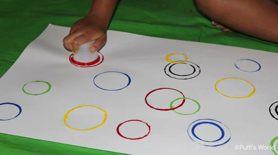 Circle Prints For Kids