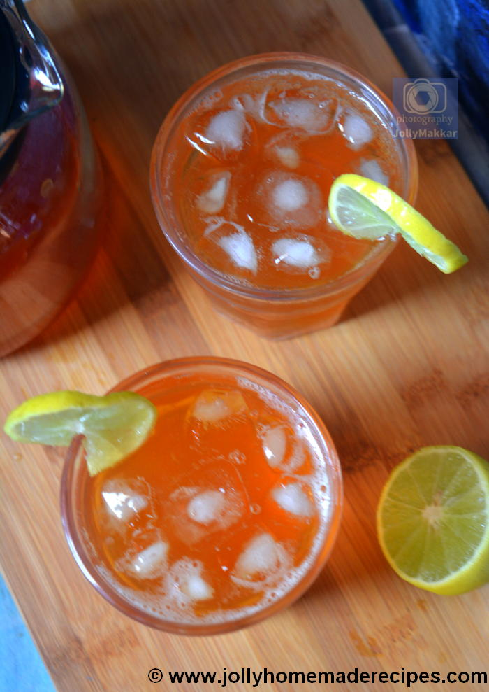 How to make Sparkling Lemon Tea