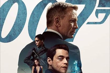 """Poster utama """"No Time to Die"""" mengumpulkan para bintang besar dalam instalmen ke-25 James Bond ini!"""