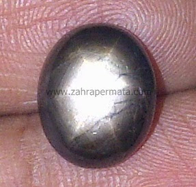 Batu Permata Black Saphire - ZP 449