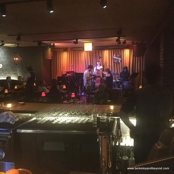 jazz cellar at the Black Cat in San Francisco, California