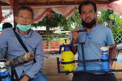 Agus Linardi  Berharap Pemerintah Mendukung , Karya Pemuda Desa Ciptakan Alat Fogging Tanpa Suara