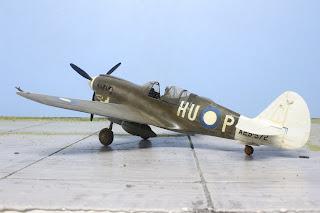 Kittyhauk IV de Mauve au 1/48.