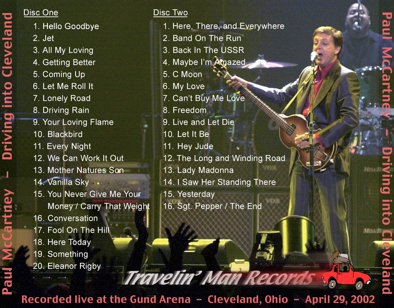 World Of BOOTLEGS: BOOTLEG : Paul McCartney - 'Driving ...  World Of BOOTLE...