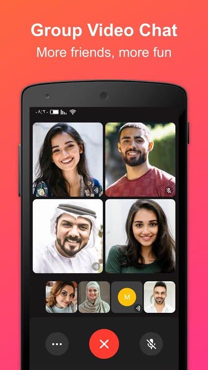 تطبيق JusTalk للأندرويد 2019 - صورة لقطة شاشة (3)