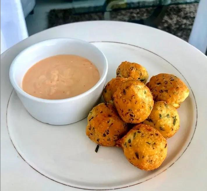 Keto Chicken Croquettes