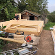 Dorset log cabin installed near Warwick and Stratford Upon Avon