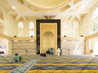 Rindu Masjid..