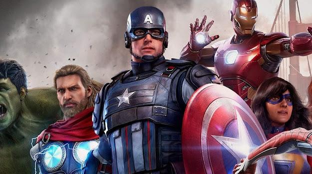 Marvel's Avengers heros