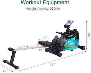 GOPLUS GYMAX Water Rowing Machine, image, review features & specifications