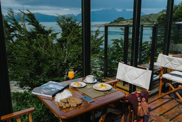 Vista do restaurante do Los Cauquenes Resort Spa Experience