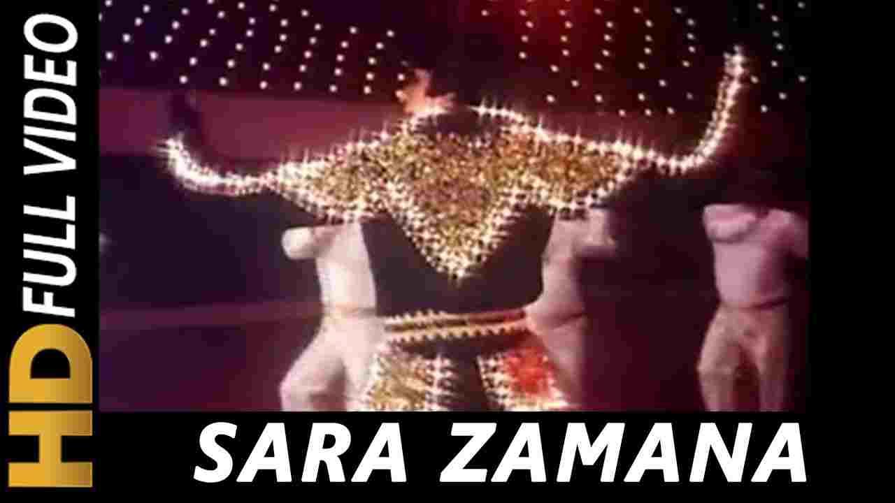 Sara zamana haseeno ka deewana lyrics Yaarana 1981 Kishore Kumar old Hindi Bollywood Song