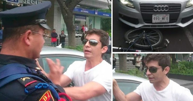 #LordDodge agrede a joven ciclista en las calles de Polanco